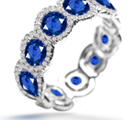 Sapphire Rings White Gold