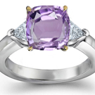 Fine Purple Sapphire Diamond Rings at the lowest prices!