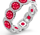dazzling ruby diamond rings can be appreciated from any angle