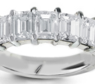 5-Stone Ring with nearly 2 � carats