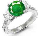 Buy a Genuine Emerald Ring Online