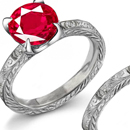 Handcrafted Ruby Jewelry