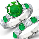 Emerald Rings Jewelry Store Online