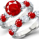 Ruby Ring Settings, Prong Settings, Bar Settings, Bezel Settings, Channel Settings