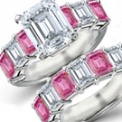 The exquisite Ashoka is a new-old diamond shape.