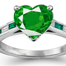 If held under the tongue, emerald was believed to foretell future events and to reveal the truth even under enchantment