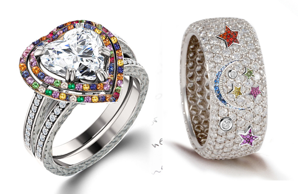 Unique Settings Of New York Engagement Rings