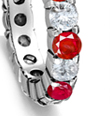 rubies, diamonds, wedding anniversary, engagement ring, eternity, gold, silver, platinum, ruby as natal stones